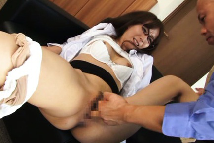 Shiho. Hot Shiho moans as her cunt gets licked and fingered passionately