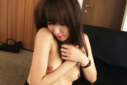 Shiho. Shy Shiho gets her tits exposed before her cunt is fingered